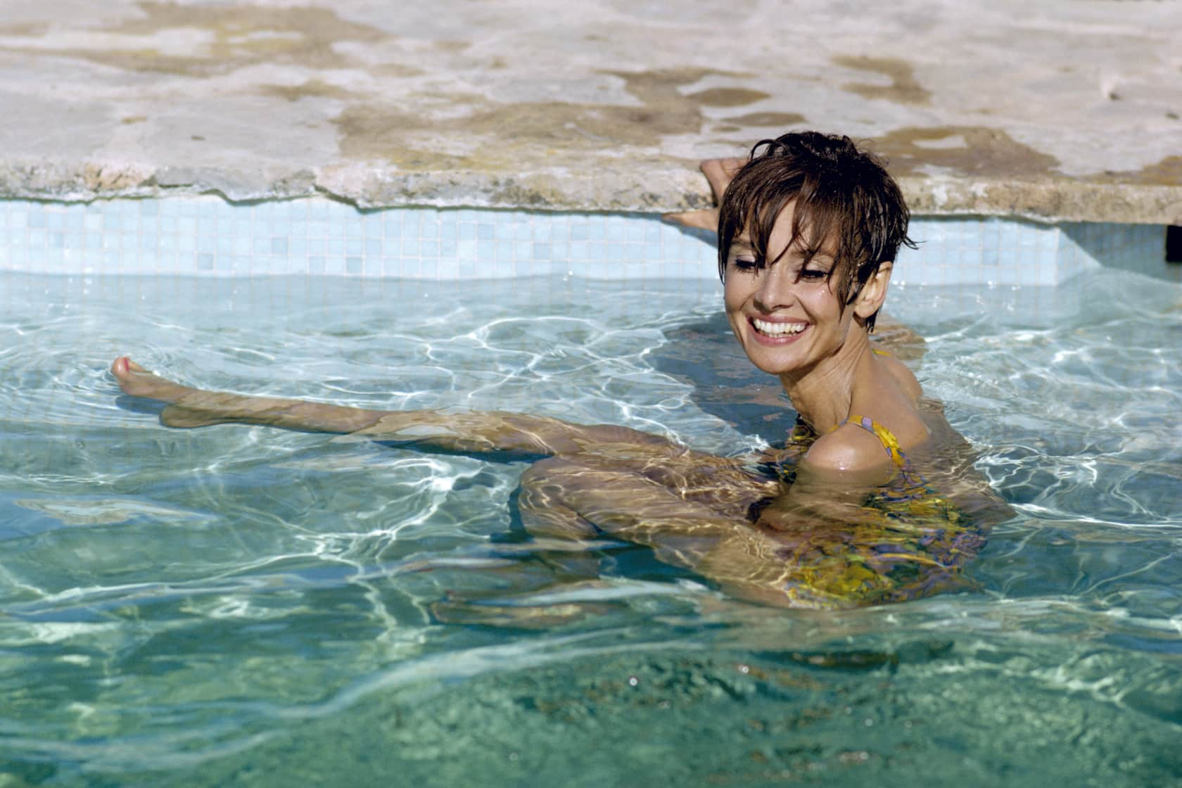 Terry O'Neill Audrey Hepburn, South of France Lifetime C-Type Print