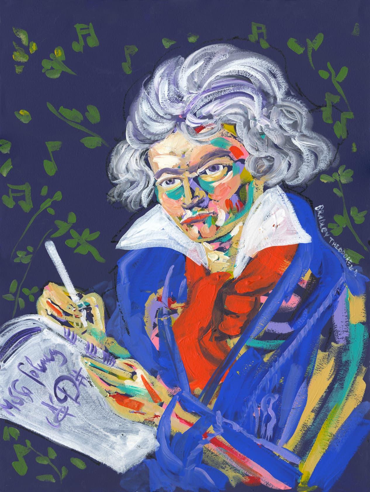 Bradley Theodore, Symphony of Beethoven, 2018