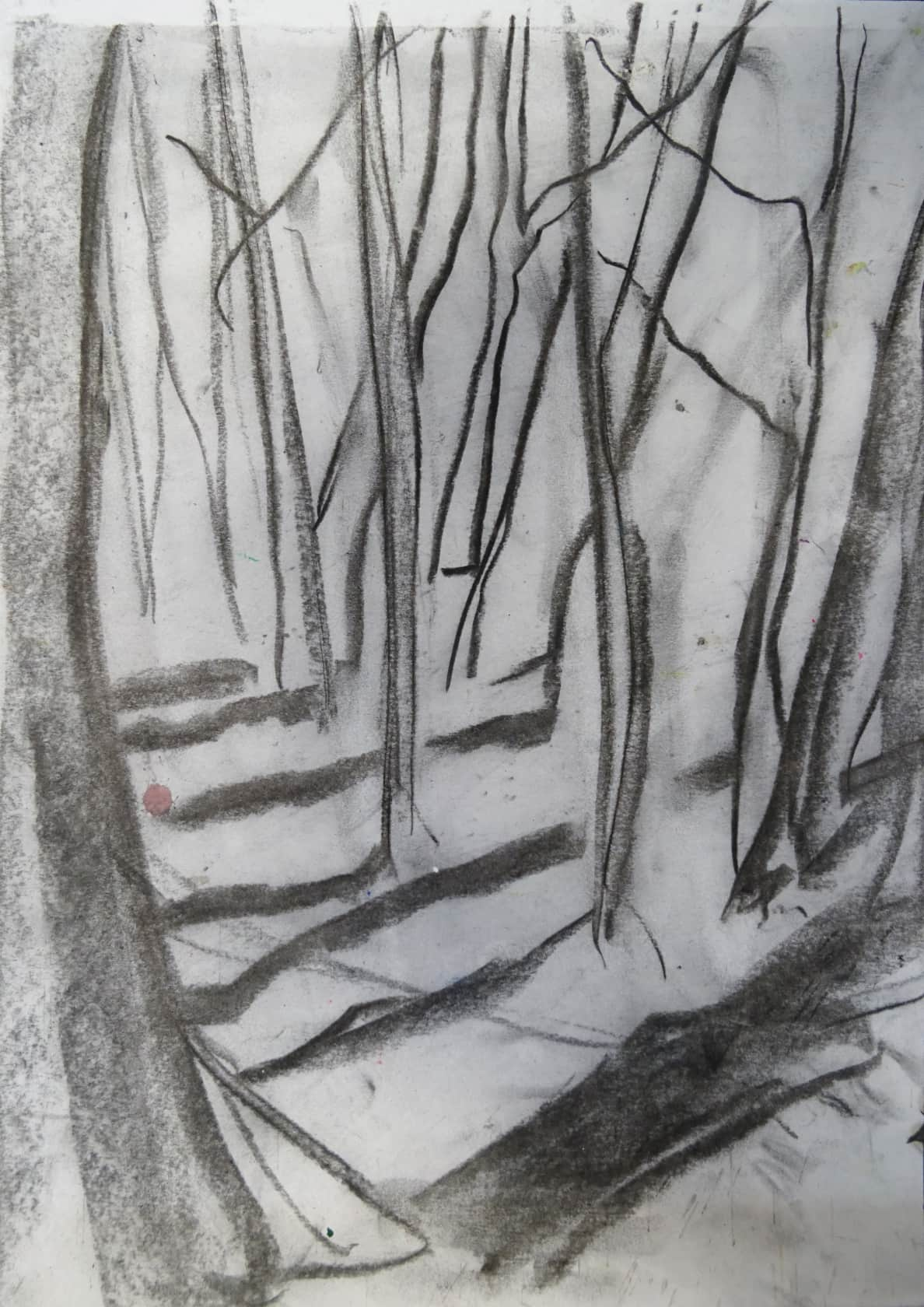 Chris Moon, Study for Epping Forest 15, 2016