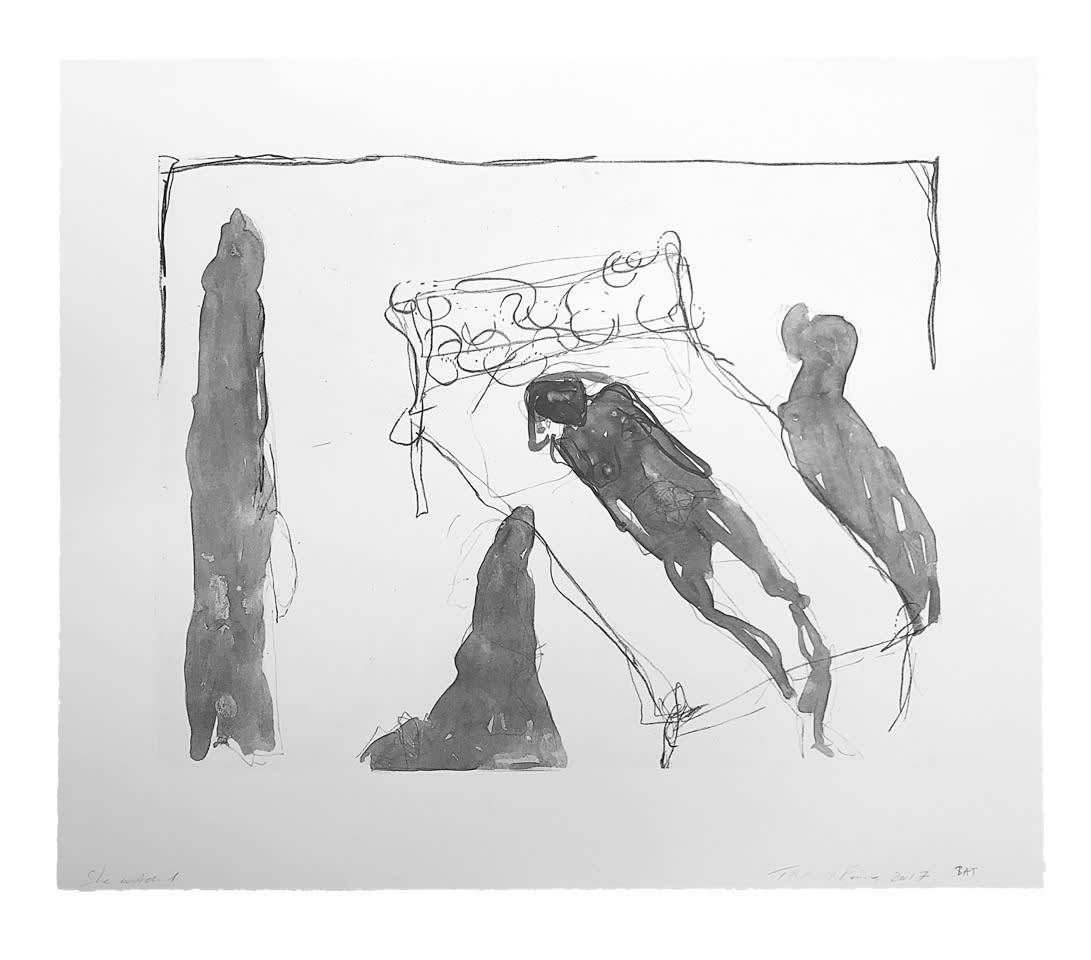 Tracey Emin She Watched Limited Edition Print