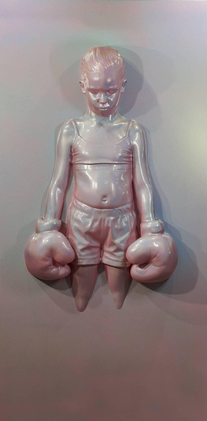 Schoony, Panel Bruiser (Bubblegum Pink), 2021