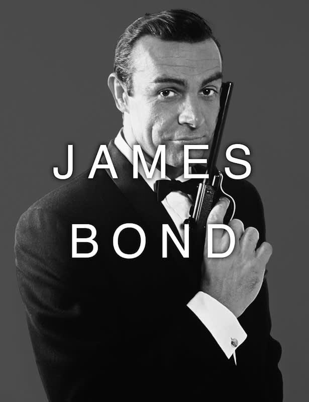 Massimo Agostinelli James Bond / Send a Job M Lenticular Pigment Print