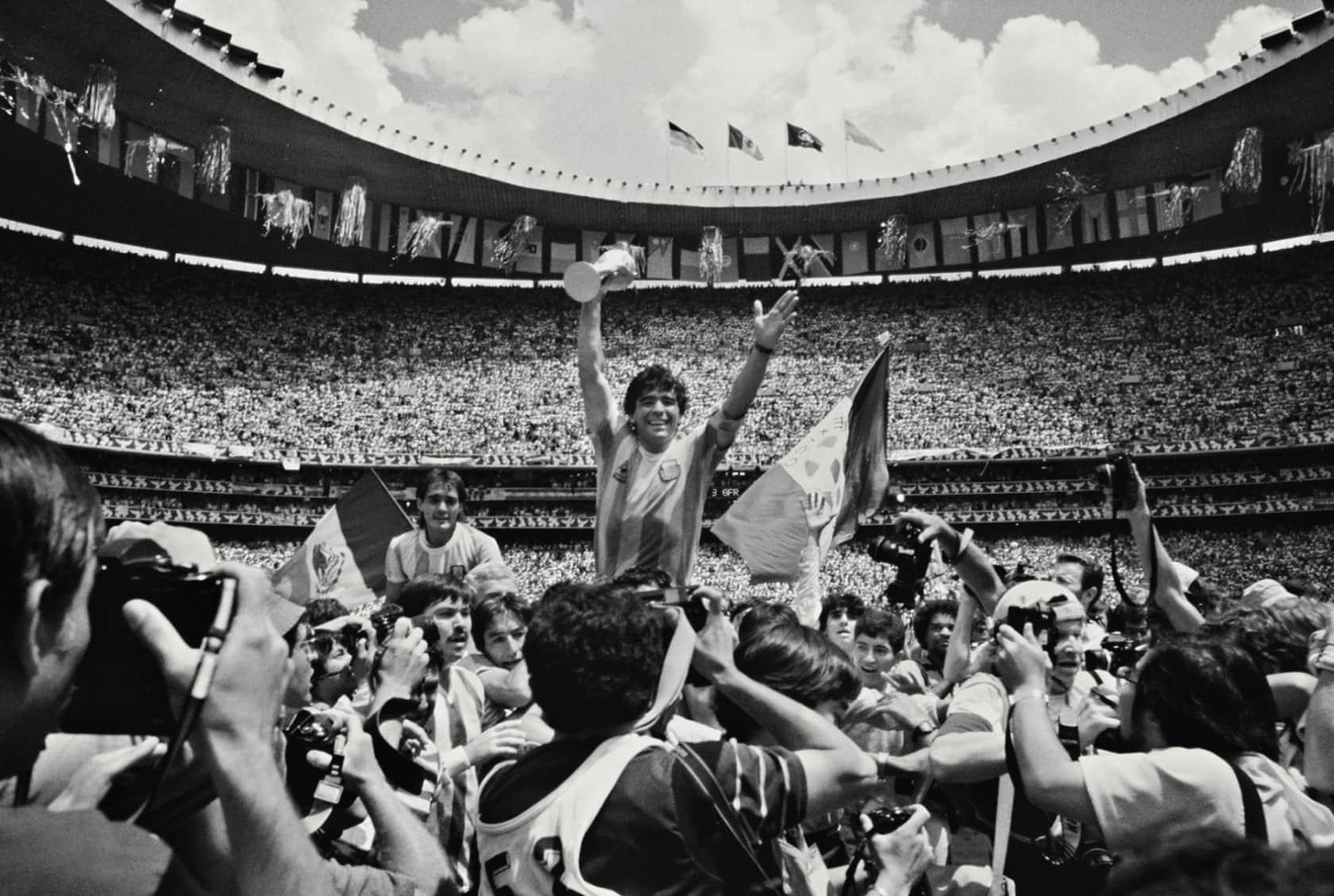 David Yarrow Maradona Archival pigment print