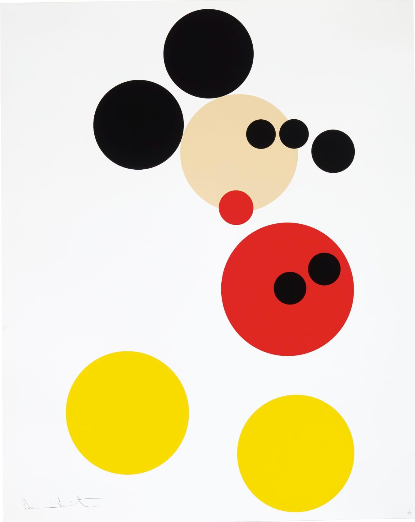 Damien Hirst Mickey Screenprint