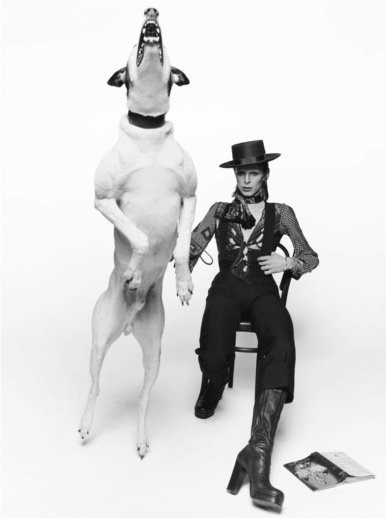 Terry O'Neill David Bowie in 'Diamond Dogs' Lifetime Gelatin Silver Print