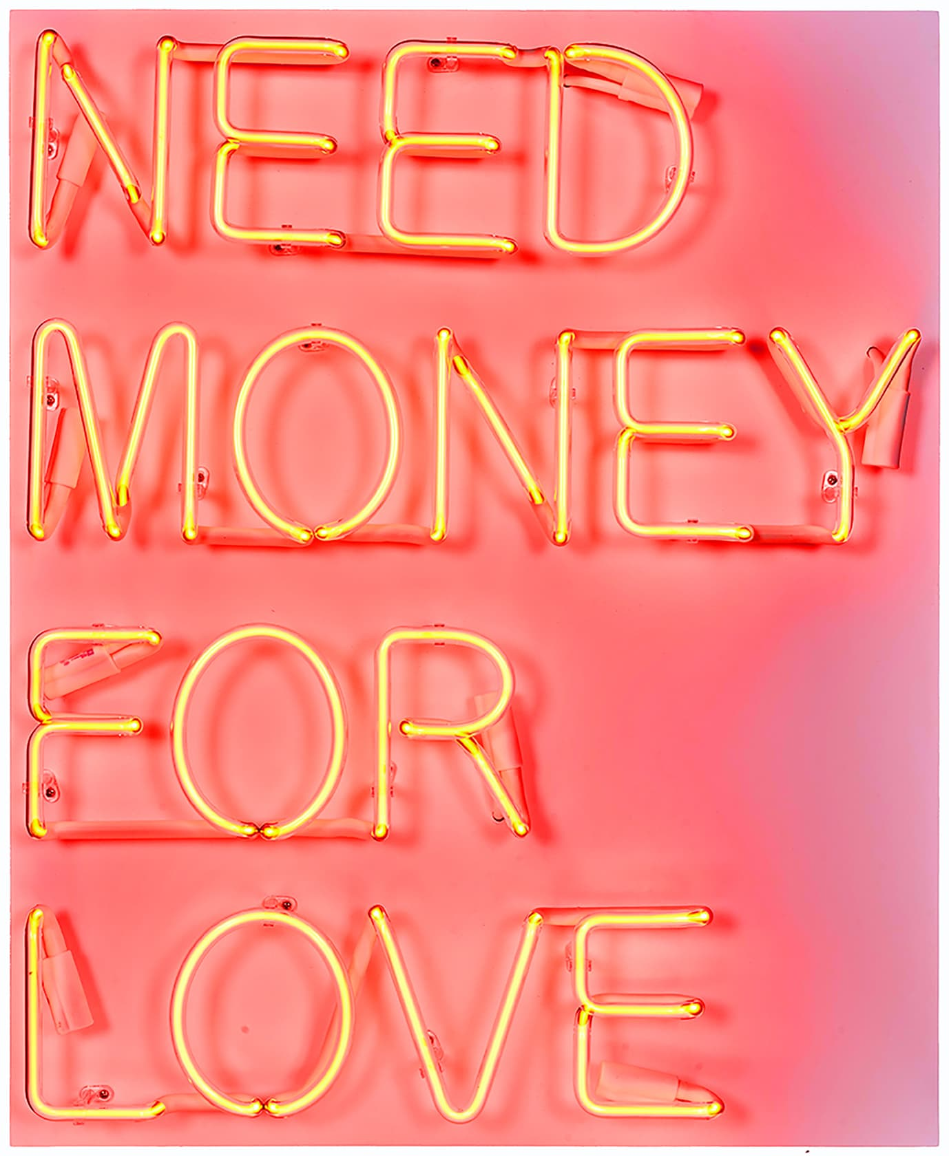 Beau Dunn Need Money For Love Neon, Transformer and Wood