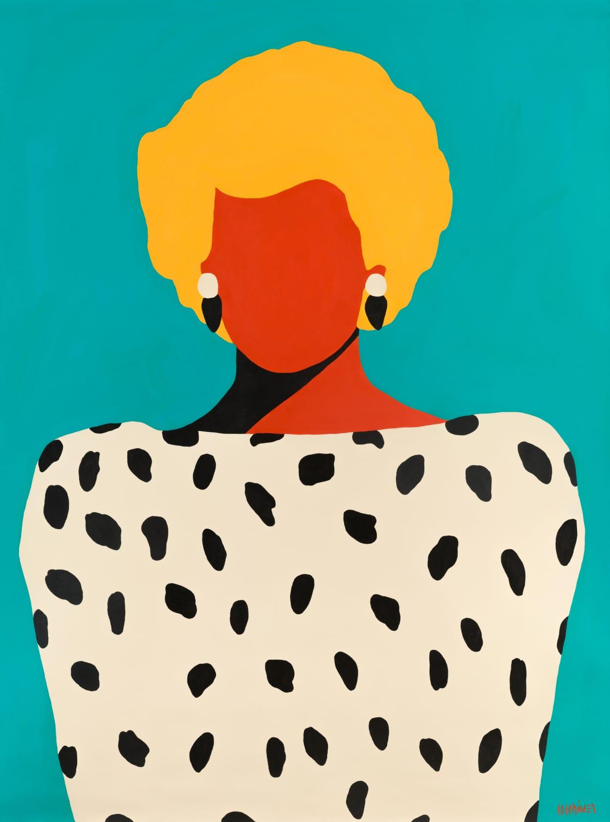 Coco Davez Diana Acrylic on Canvas