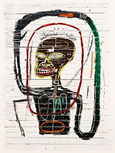 Jean-Michel Basquiat Flexible Silkscreen