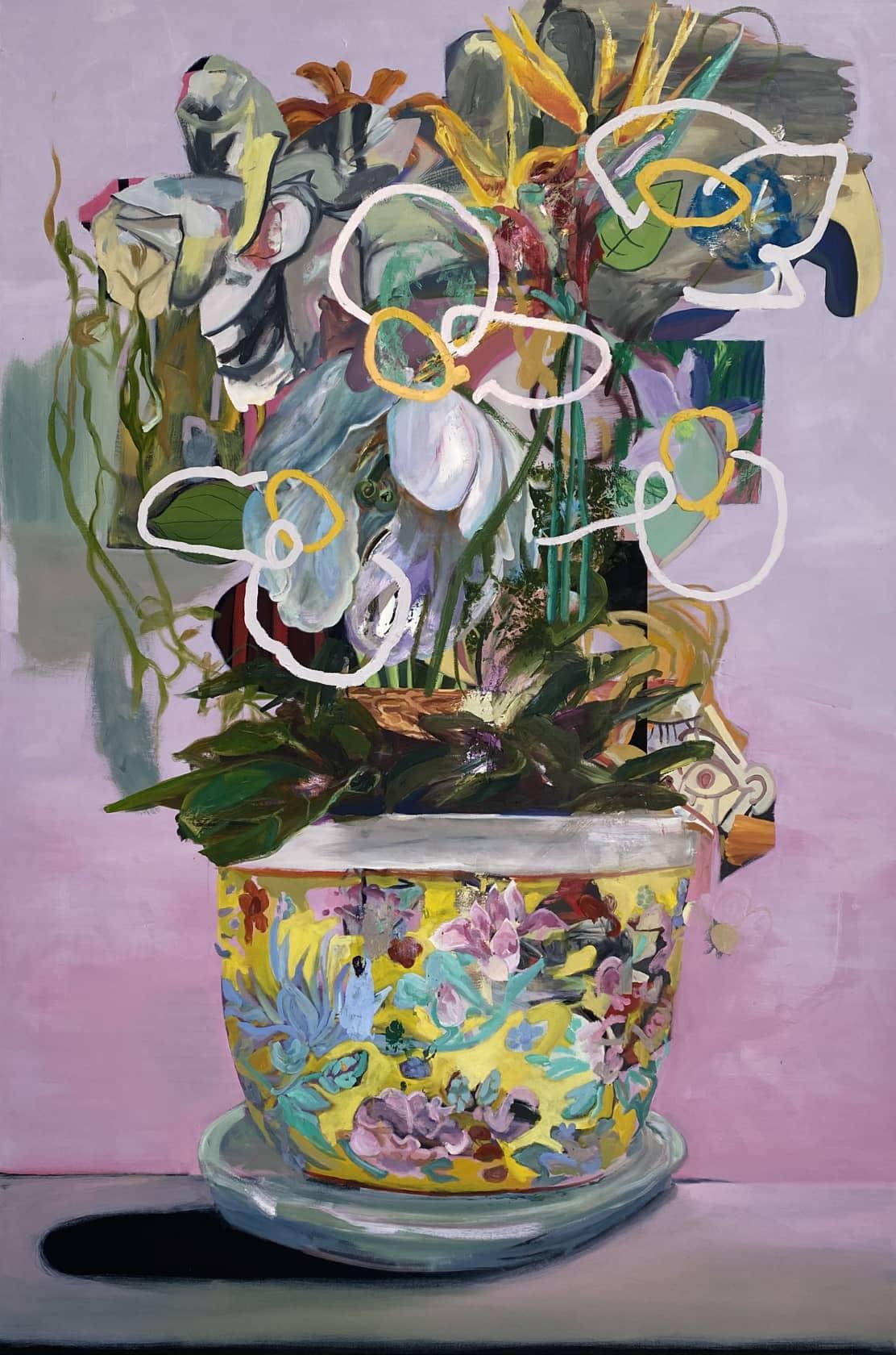 Wyatt Mills A Fine Vine Oil on canvas
