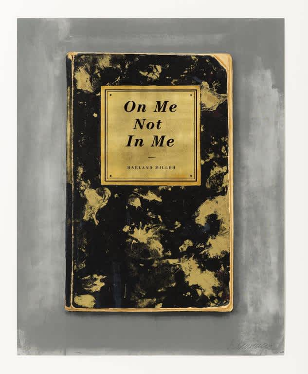 Harland Miller, On Me Not In Me, 2015