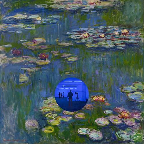 Jeff Koons, Gazing Ball (Monet Water Lilies), 2018