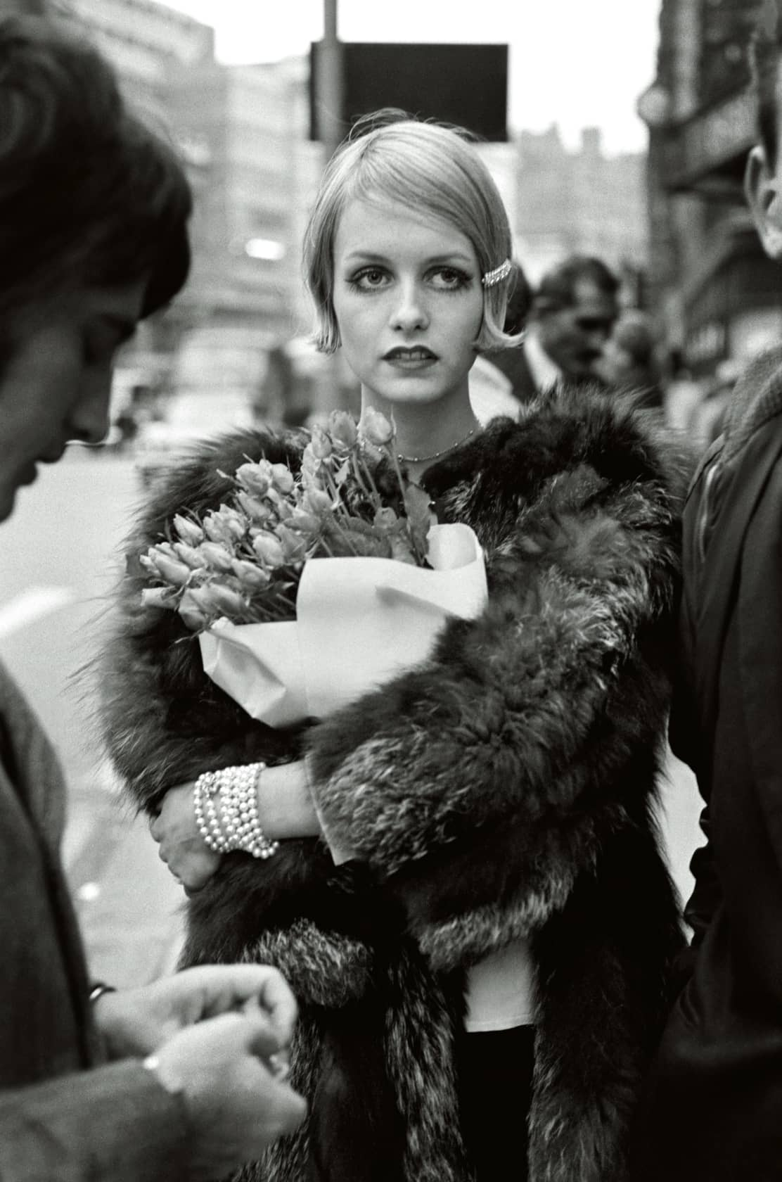 Terry O'Neill Twiggy, London Posthumous Gelatin Silver Print *available in other mediums & editions