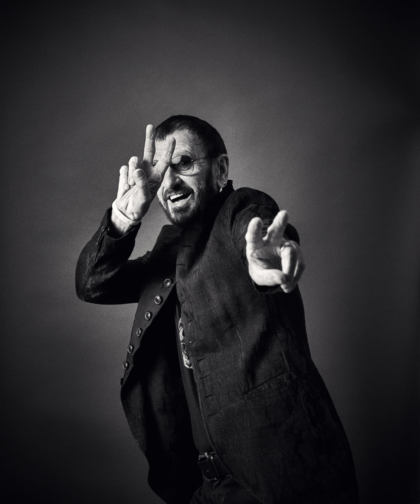 Andy Gotts Ringo Starr Fine Art Giclée Archival Print