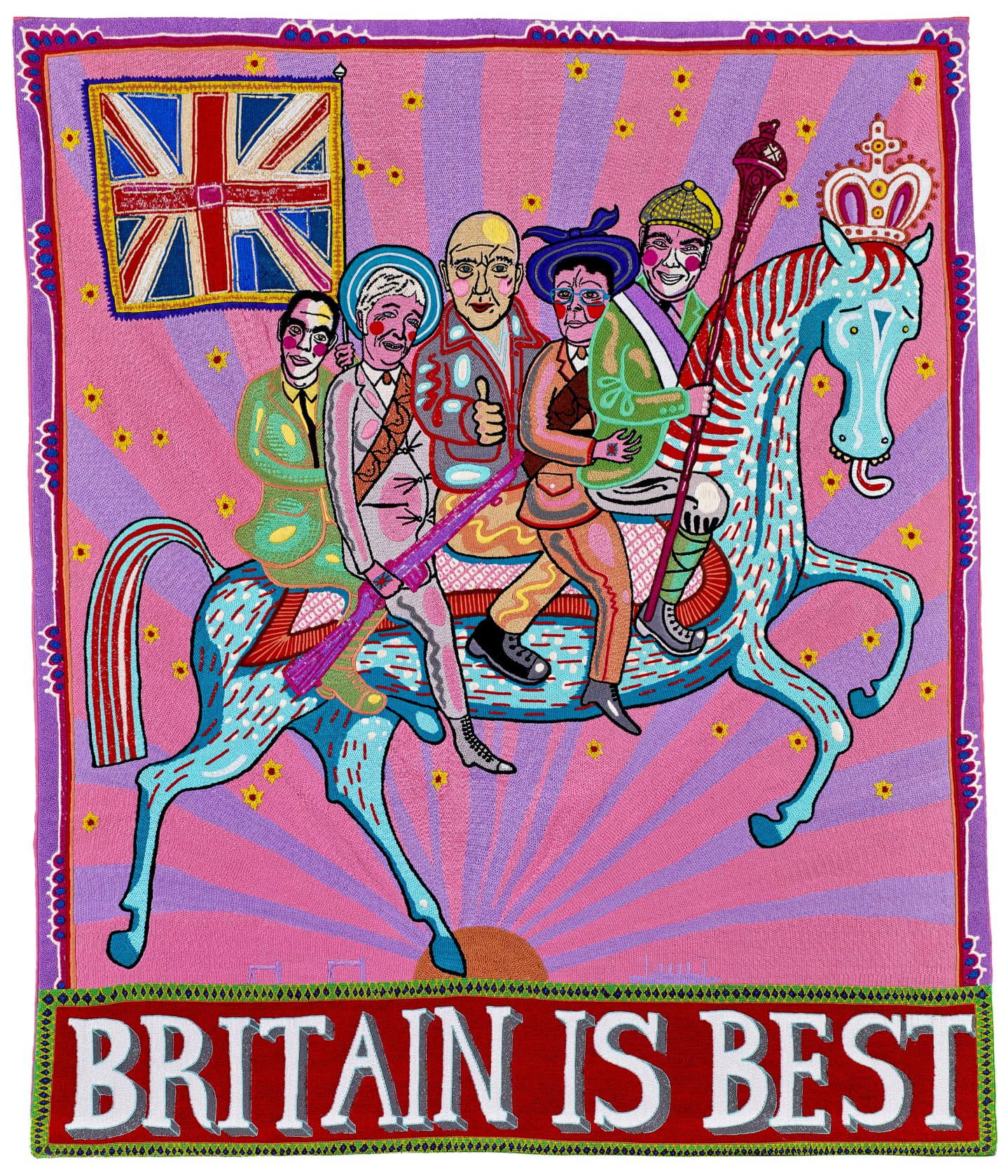 Grayson Perry Britain is Best Embroidery
