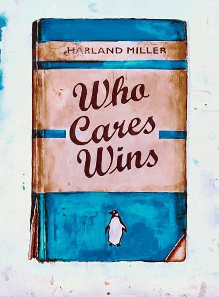 Harland Miller, Who Cares Wins (NHS), 2020