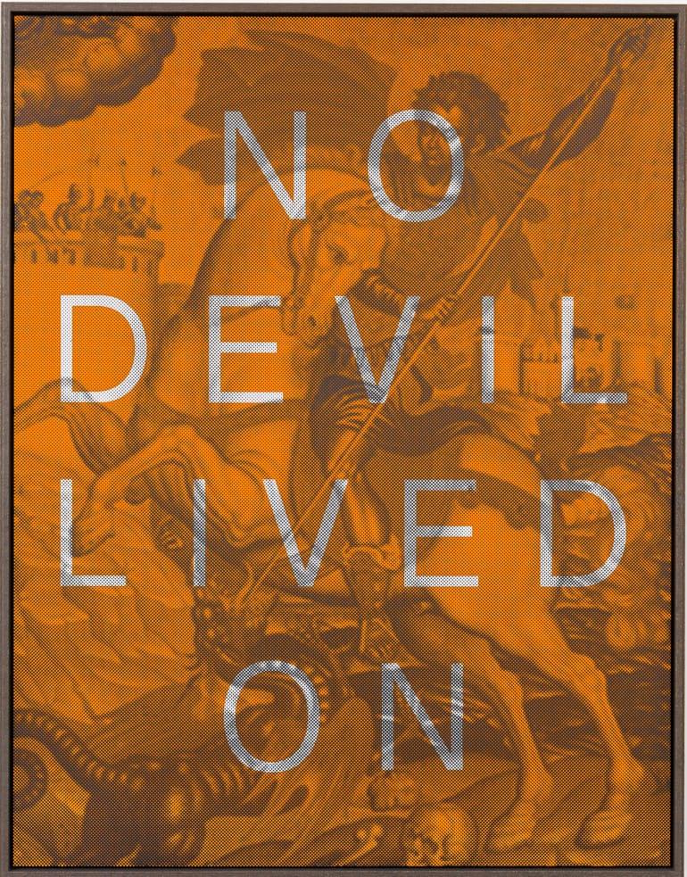 Massimo Agostinelli, No Devil Lived On, 2015
