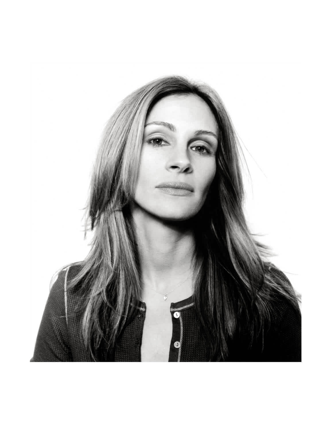 Andy Gotts Julia Roberts Co-signed C-Type Photographic Print