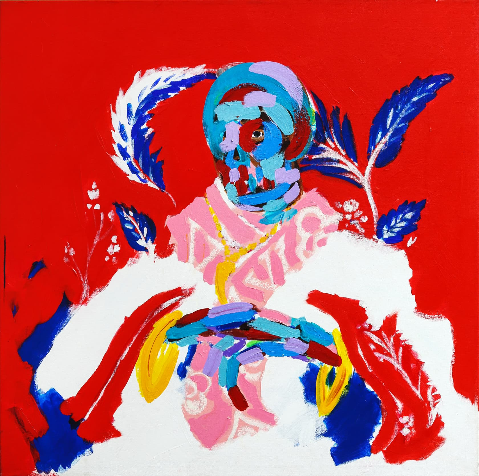 Bradley Theodore The Oracle Acrylic on Canvas