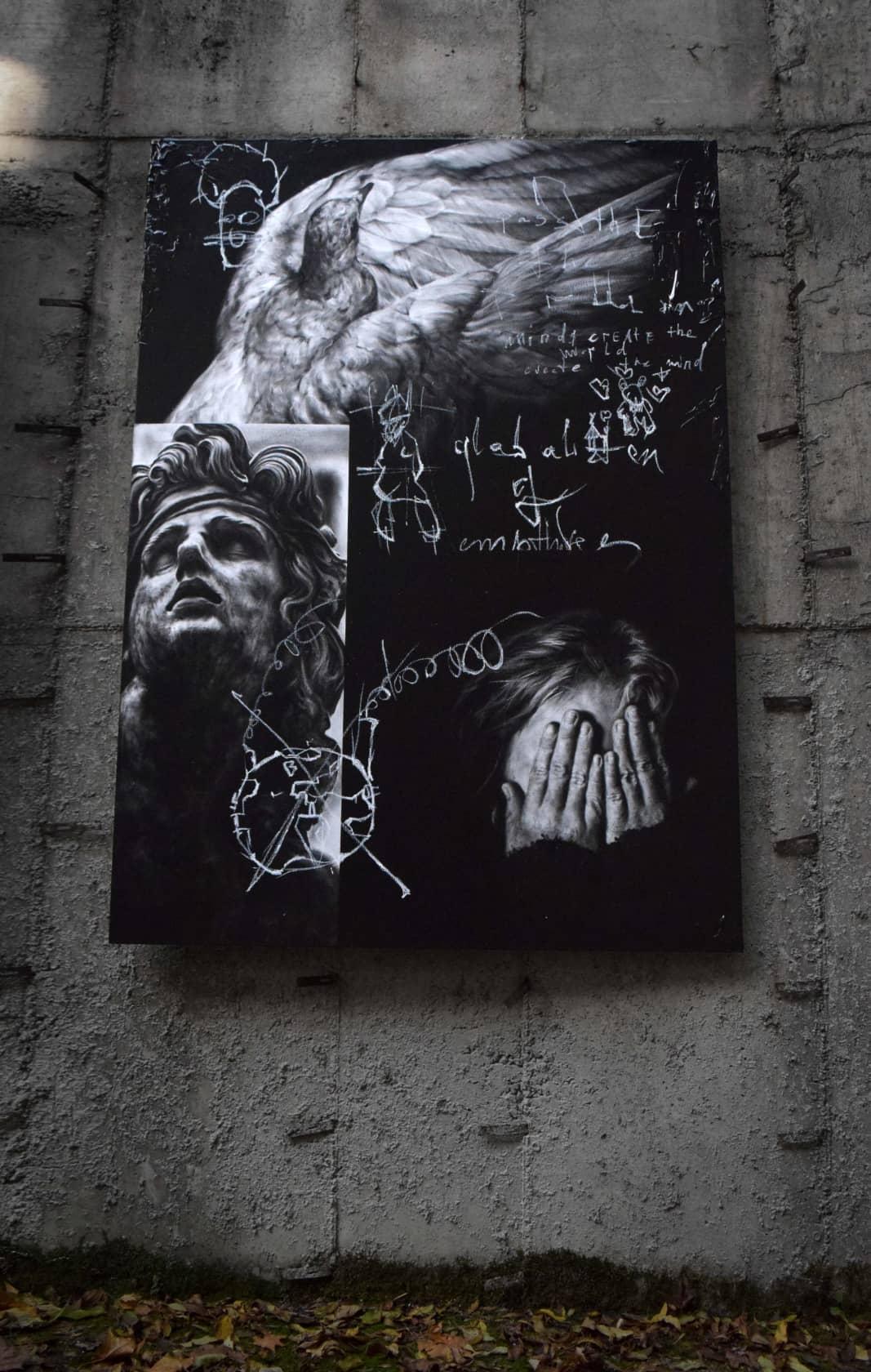 Igor Dobrowolski Globalization of Emptiness Oil on Canvas