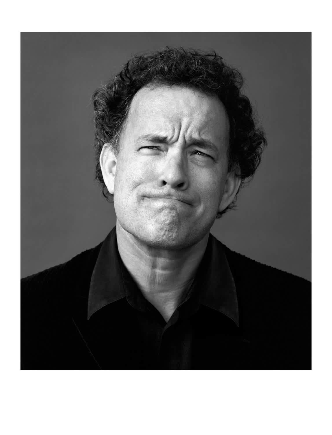 Andy Gotts Tom Hanks Co-signed C-Type Photographic Print
