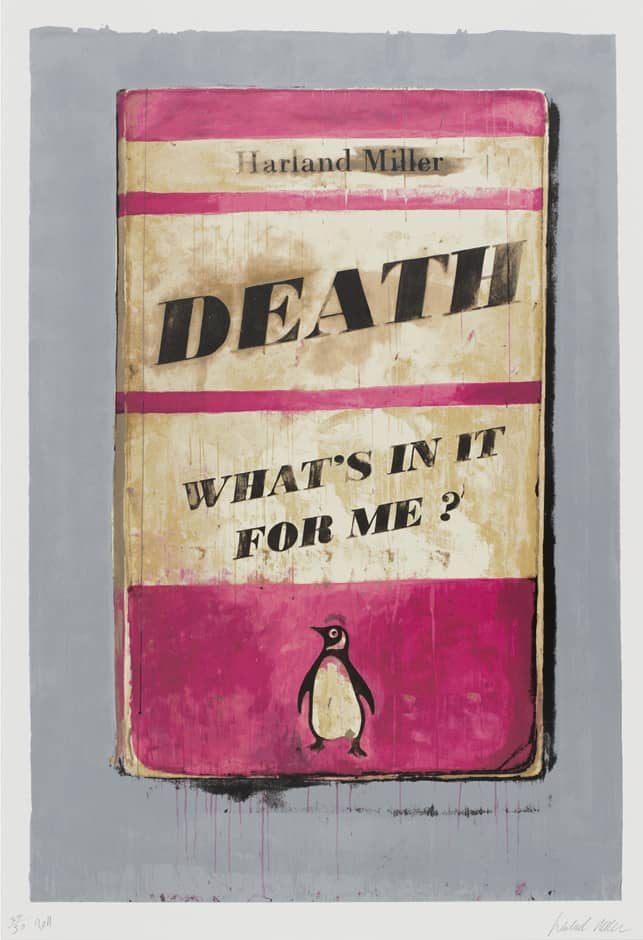 Harland Miller, Death What's In It For Me?, 2014
