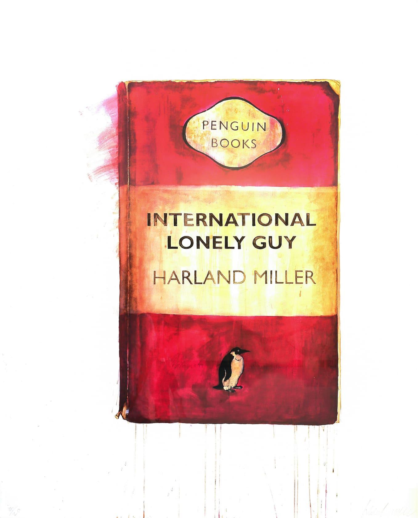 Harland Miller, International Lonely Guy, 2010
