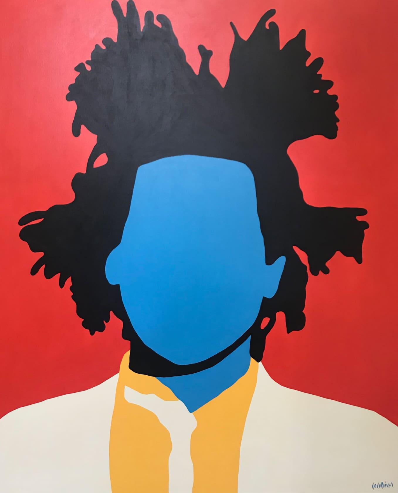 Coco Davez Basquiat Acrylic on Canvas