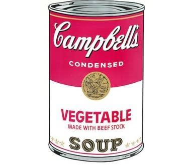 Andy Warhol, Vegetable Soup, 1968