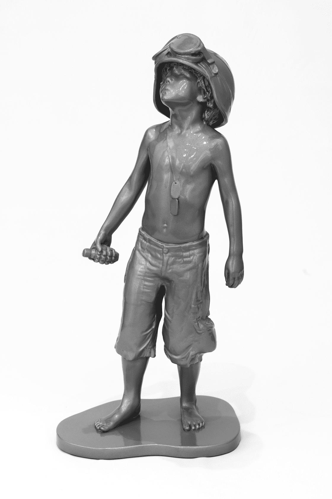 Schoony Half Size Boy Soldier (Grey Prismatic) Grey Prismatic
