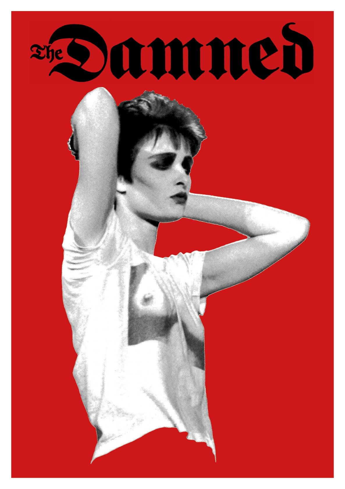 KEVIN CUMMINS & SCOTT KING Bootleg 3 colour screenprint on A1 G.F Smith Colorplan Bright White
