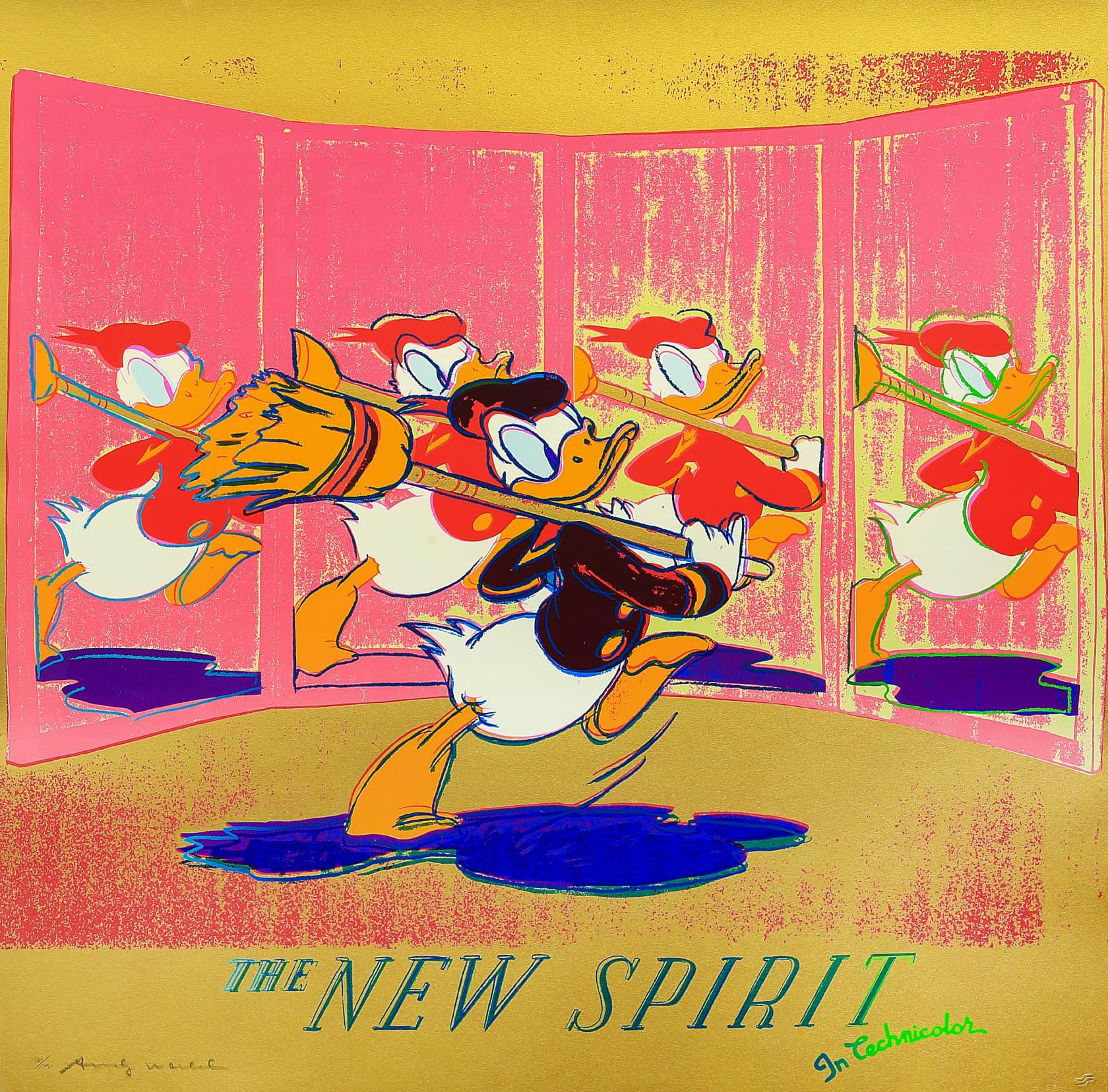 Andy Warhol The New Spirit (Donald Duck) Screenprint
