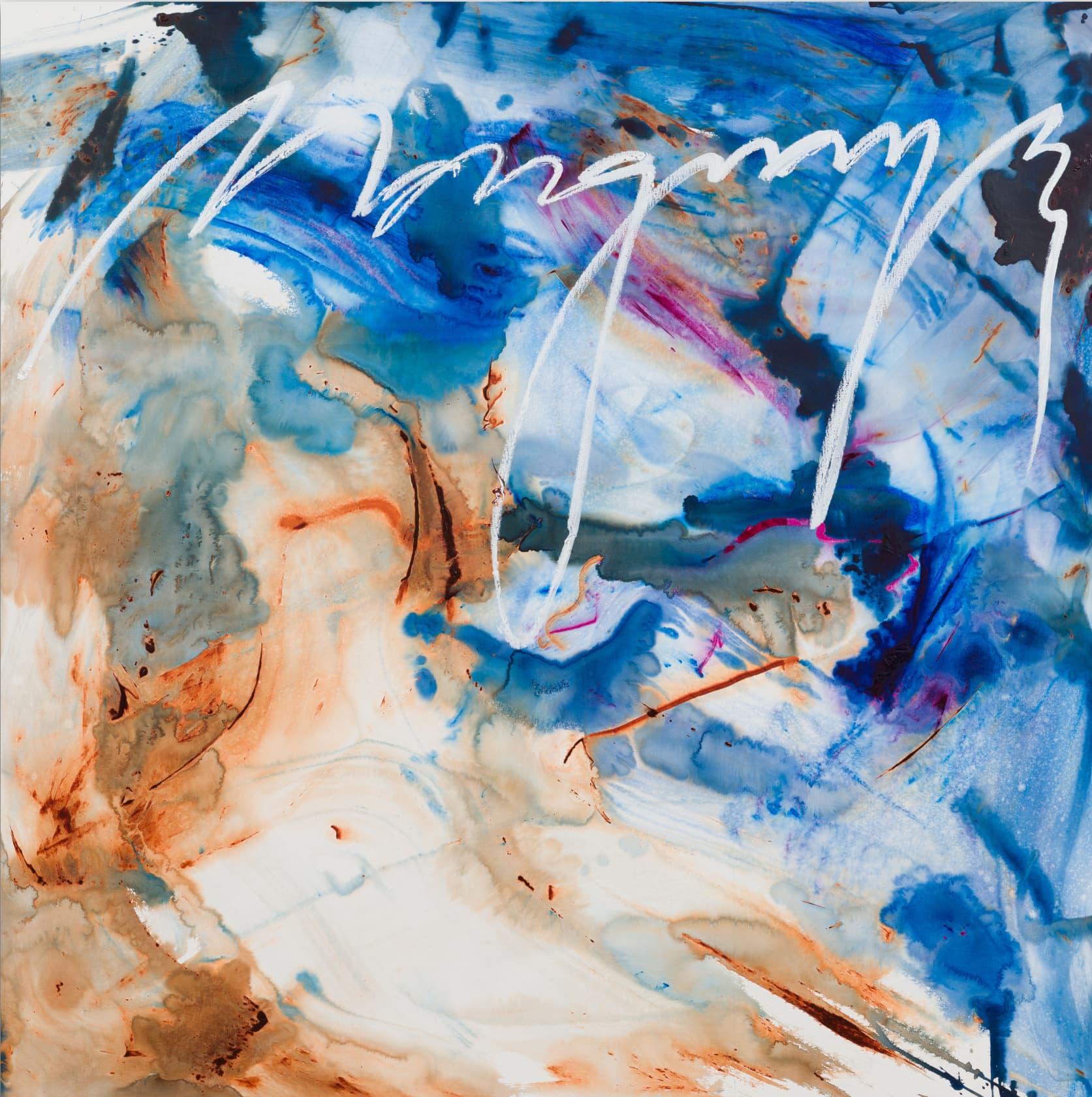 Retna Margraves Oil and Acrylic on Canvas