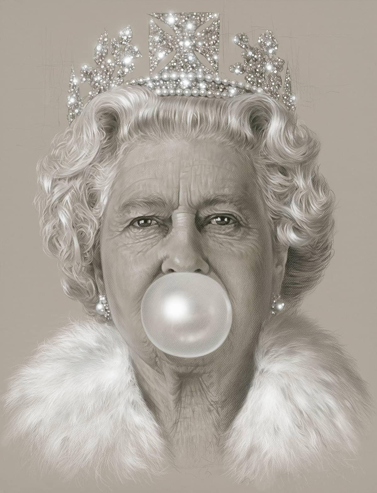 Michael Moebius, Queen Bubblegum, 2016