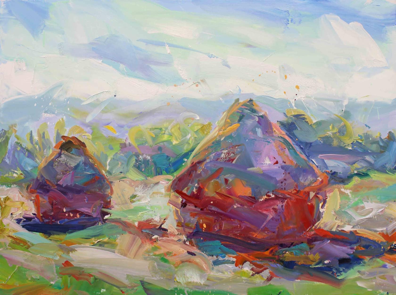 Paul Wright, Haystacks, 2017