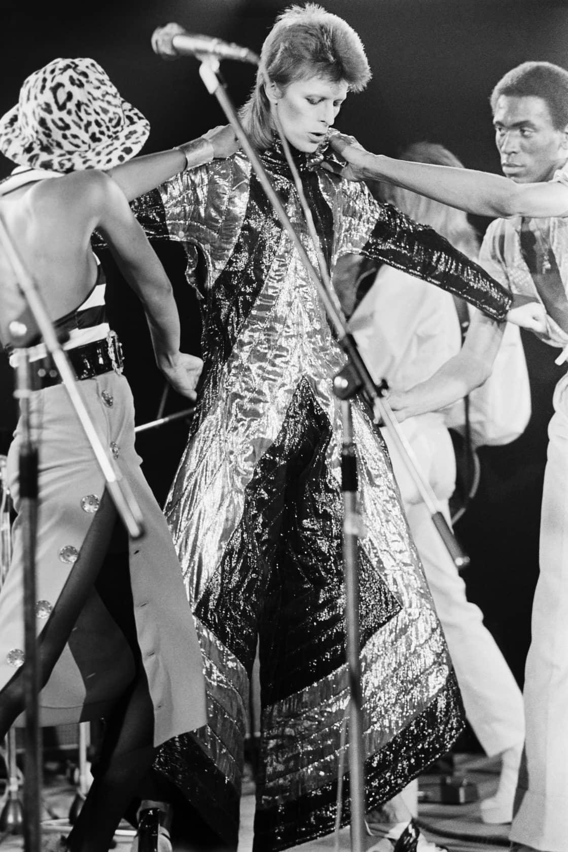 Terry O'Neill David Bowie as Ziggy Stardust Lifetime Gelatin Silver Print