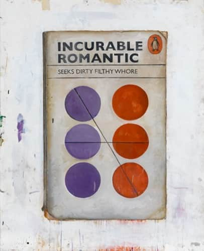 Harland Miller, Incurable Romantic Seeks Dirty Filthy Whore, 2011