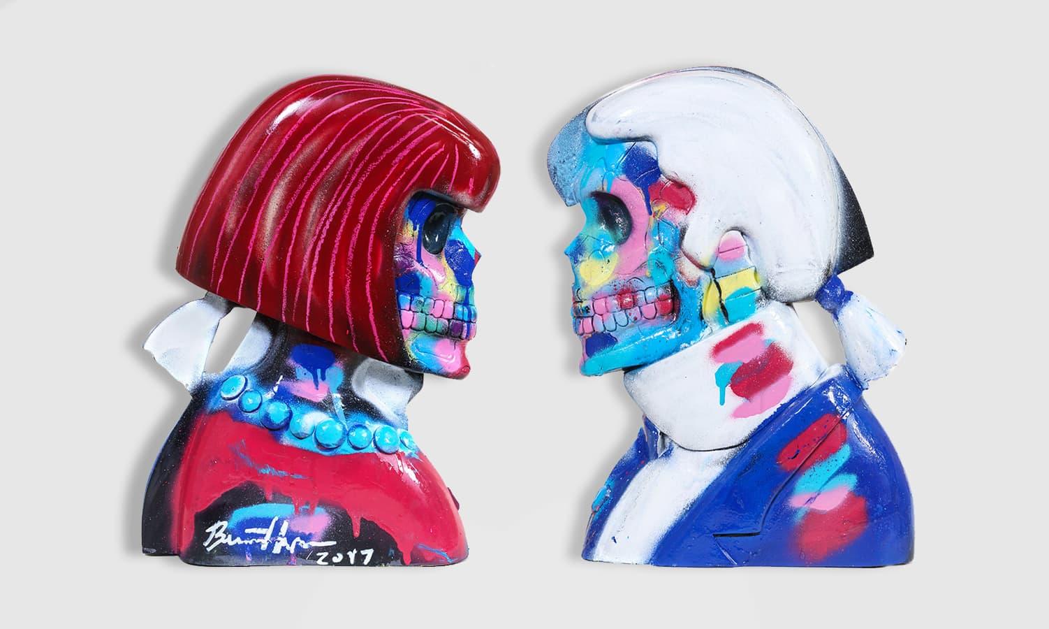 Bradley Theodore, Anna & Karl Sculpture 3, 2017