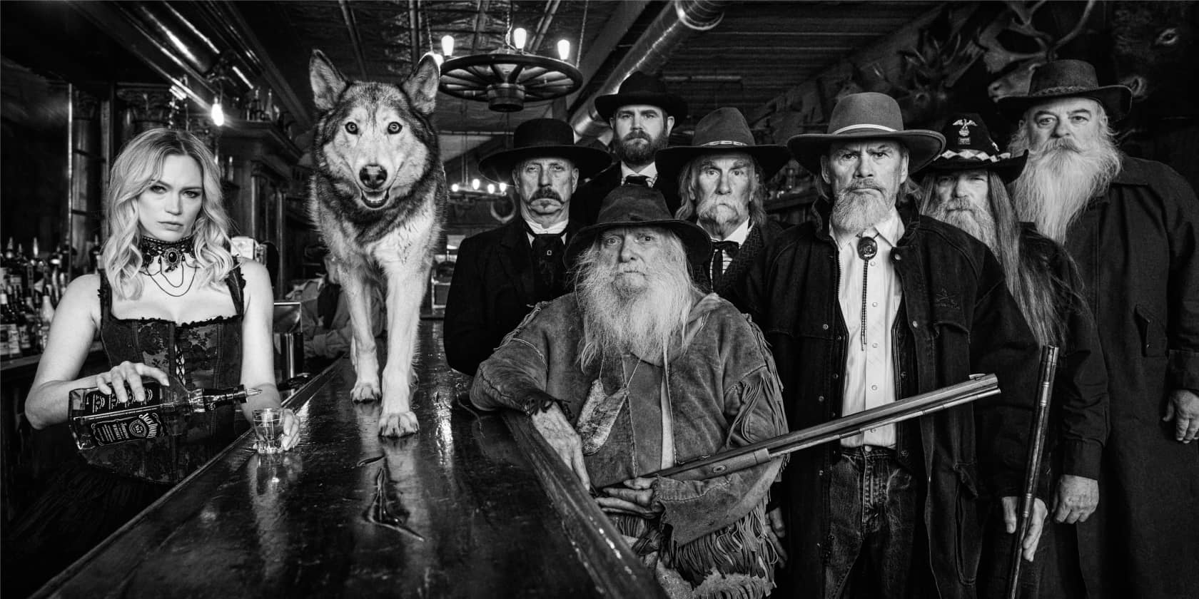 David Yarrow, More Usual Suspects, 2021