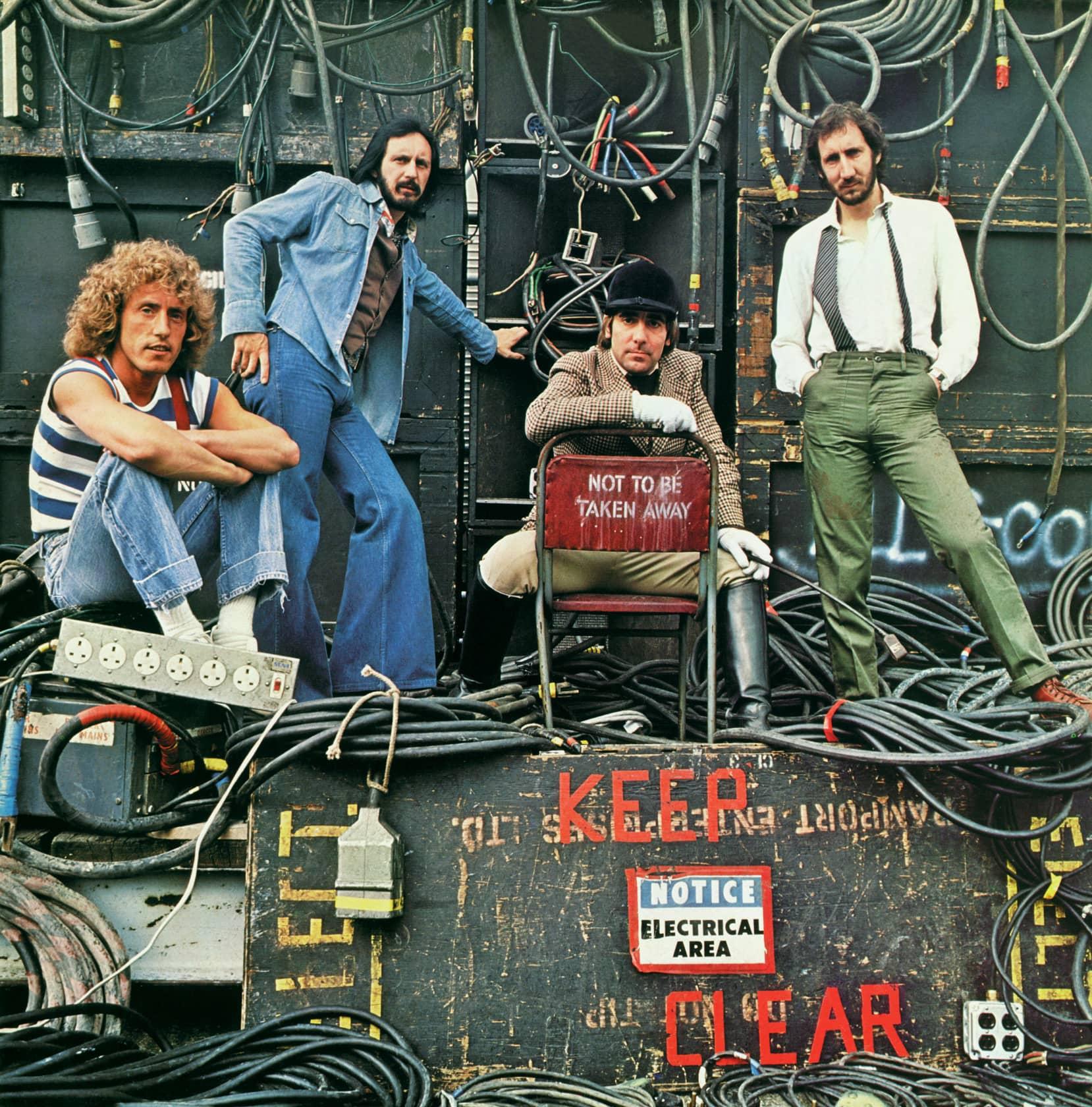 Terry O'Neill The Who, Shepperton Studios Lifetime C-Type Print