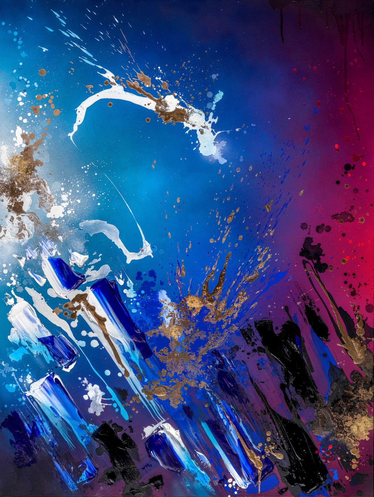 Mikael B, Starry Night #2, 2020