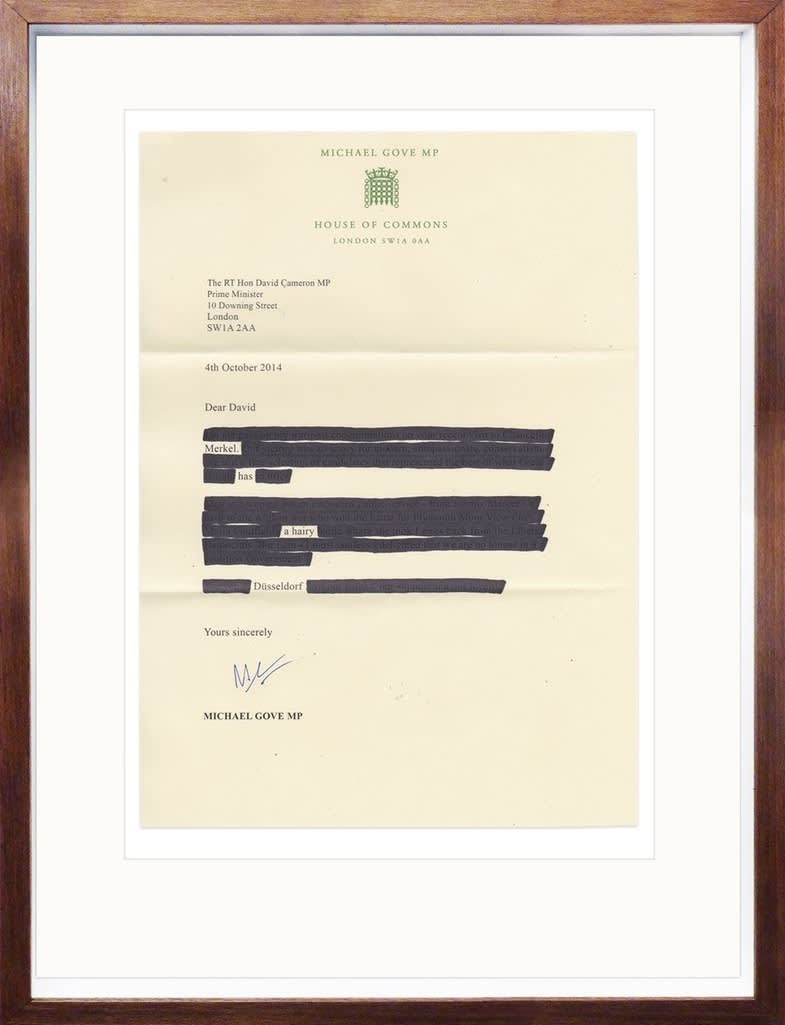 The Connor Brothers Hairy Dusseldorf Redacted Letter