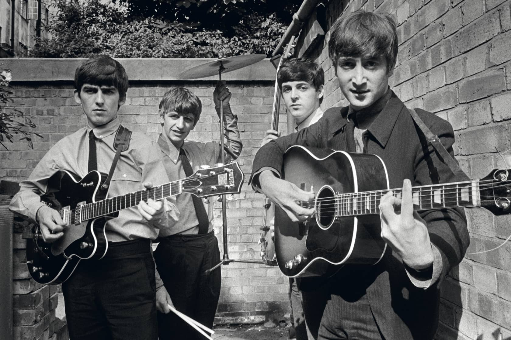 Terry O'Neill The Beatles, London Lifetime Gelatin Silver Print *available in other mediums & editions