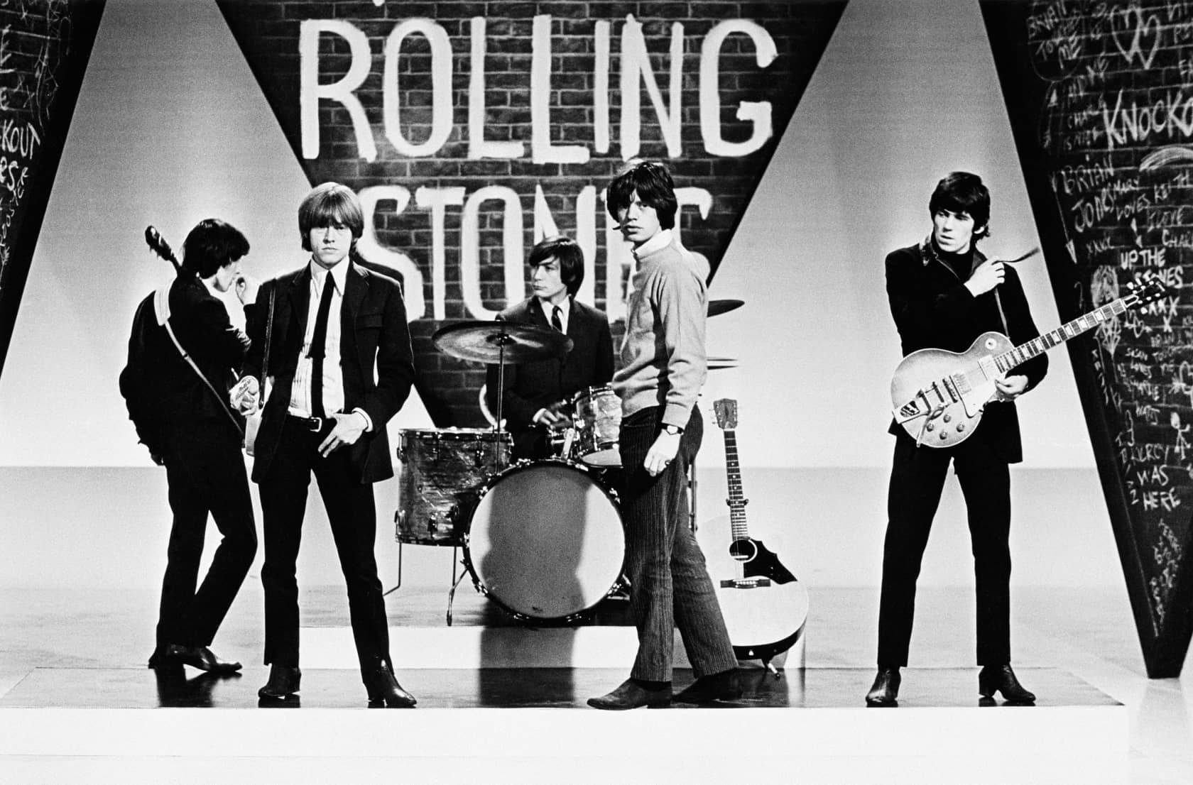 Terry O'Neill The Rolling Stones Lifetime Gelatin Silver Print