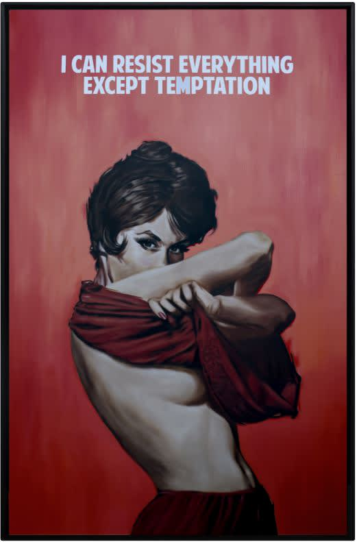 The Connor Brothers I Can Resist Everything Except temptation Oil On Canvas