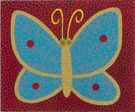 Yayoi Kusama, Papillon (Butterfly), 2000