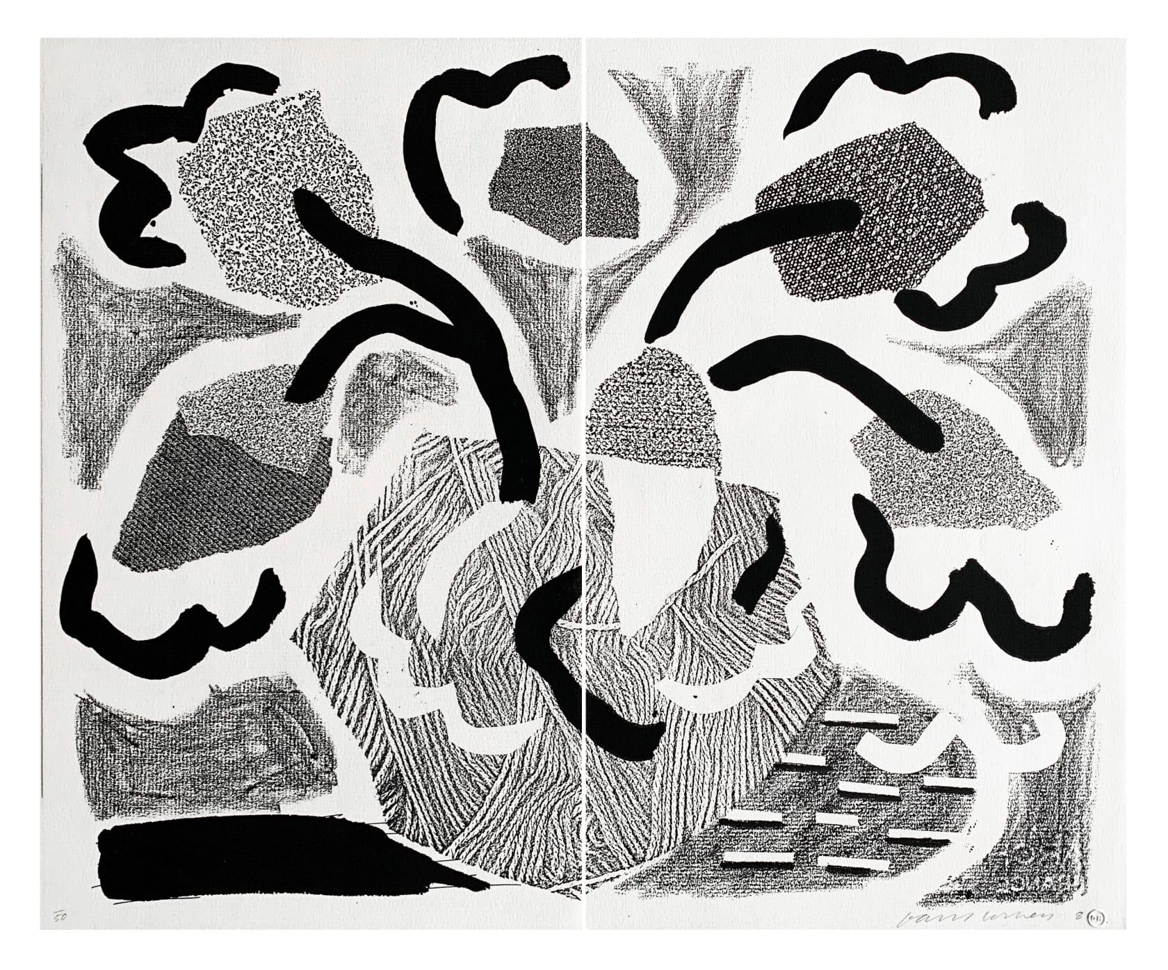 David Hockney, Grey Blooms