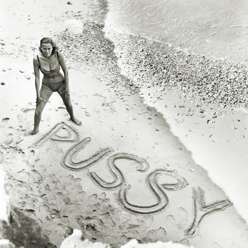 Terry O'Neill Honor Blackman as Pussy Galore Lifetime Gelatin Silver Print