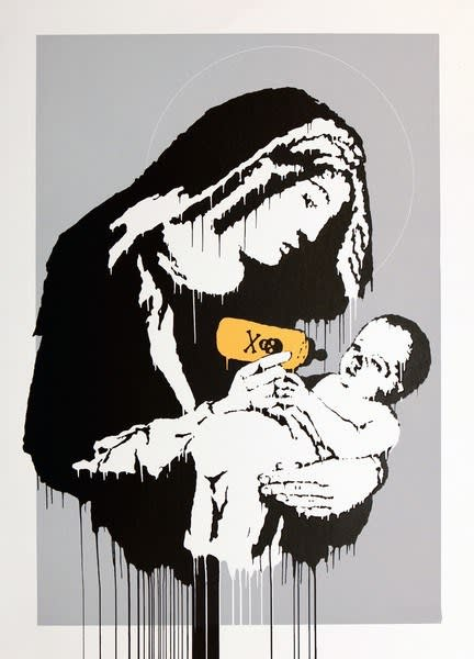 Banksy Toxic Mary (Unsigned) Screenprint