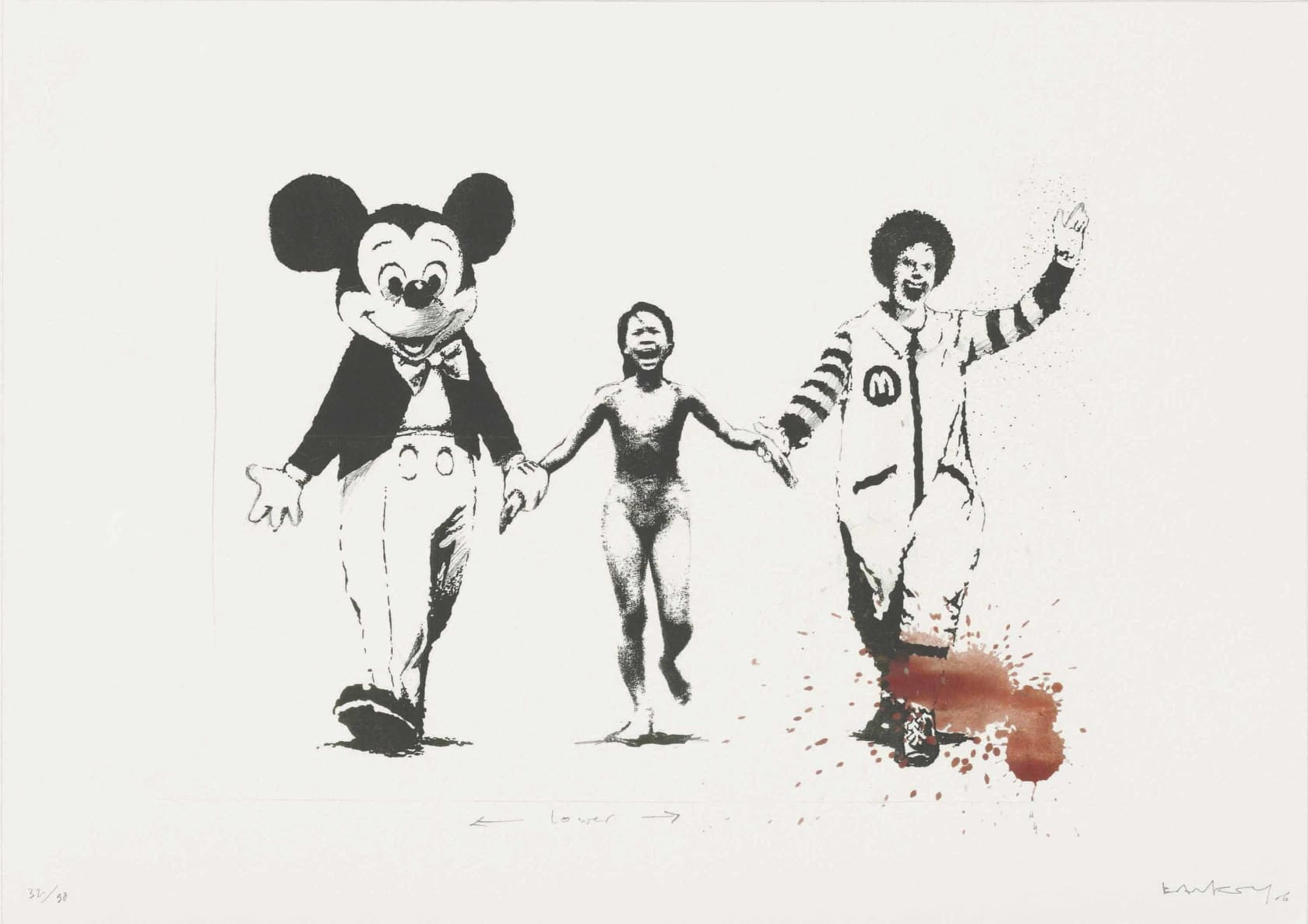 Banksy Napalm - Serpentine Edition (Signed) Giclée Print