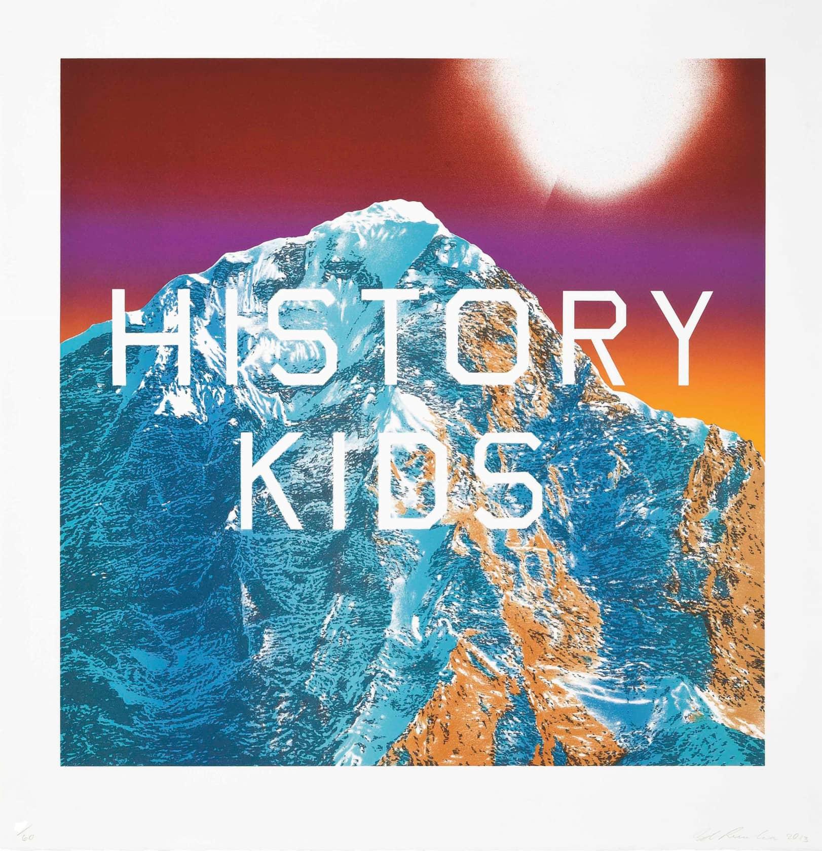 Ed Ruscha, History Kids, 2014